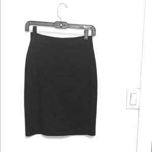 Women's Small Black Pencil Skirt